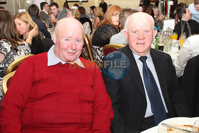 Ollie Clinton and Louis White at the St Marys GFC Presentation Dinner Dance in The Glenside Hotel...(Photo credit should read Jenny Matthews/www.newsfile.ie)....This Picture has been sent you under the conditions enclosed by:.Newsfile Ltd..The Studio,.Millmount Abbey,.Drogheda,.Co Meath..Ireland..Tel: +353(0)41-9871240.Fax: +353(0)41-9871260.GSM: +353(0)86-2500958.email: pictures@newsfile.ie.www.newsfile.ie.