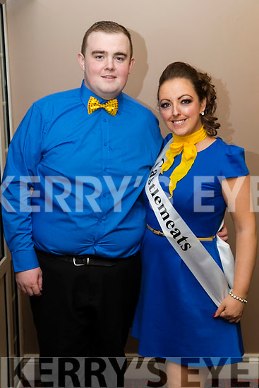 Wayne Enright and Louise Devoy at Ballymac Strictly Come Dancing, at Ballygarry House Hotel & Spa, Tralee, on Saturday night