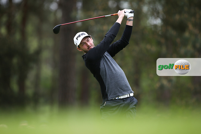 Matthew Nixon (ENG) during Round Two of the 2015 BMW PGA Championship over the West Course at Wentworth, Virginia Water, London. 22/05/2015Picture David Lloyd, www.golffile.ie.