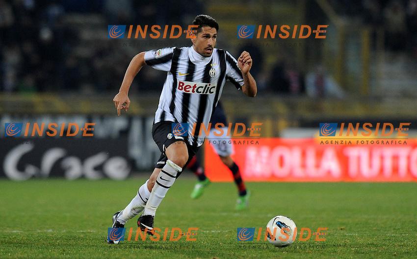 "Marco BORRIELLO (Juventus).Bologna 07/03/2012 Stadio ""Renato Dall Ara"".Serie A 2011/2012.Football Calcio Bologna Vs Juventus.Foto Insidefoto Alessandro Sabattini."