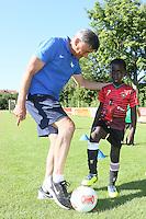 06.07.2015: Training mit Ramon Berndroth (SV Darmstadt 98) bei der SKG Wallerstädten