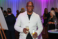 Ian Wright attends the evening event of the Graham Wylie Foundation- Have A Heart- golf day with Lee Westwood and Ronan Keating at Close House Golf Club, Heddon on the wall, England on 10 September 2018. Photo by Thomas Gadd.
