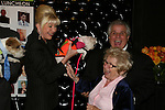 Ivana Trump with puppy at the First Annual StarPet 2008 Awards Luncheon as dogs and cats compete for a career in showbusiness on November 10, 2008 at the Edison Ballroom, New York, New York. The event benefitted Bideawee and NY SAVE. (Photo by Sue Coflin/Max Photos