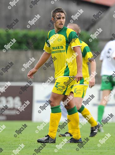 2011-07-20 / Voetbal / seizoen 2011-2012 / Witgoor Sport / Robbe Claes..Foto: mpics