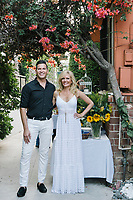 Hank Stampfl and Leesa Rowland attend Animal Ashram L.A. Cocktails and Conversation in Los Angeles, California on August 13, 2018 (Photo by Jason Sean Weiss / Guest of a Guest)