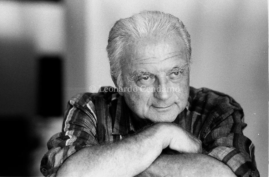 Franco Interlenghi (29 October 1931 – 10 September 2015) was an Italian actor. He made his acting debut at 15 in Vittorio De Sica's 1946 Neorealist film. Vieste 28 july 1999. © Leonardo Cendamo