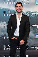 "Miguel Diosdado attend the Premiere of the movie ""EXODUS: GODS AND KINGS"" at callao Cinema in Madrid, Spain. December 4, 2014. (ALTERPHOTOS/Carlos Dafonte)"