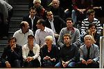 Heidelberg 15.10.2008, 2. BBL Pro A Serie, USC Heidelberg - Roosters Bremen. Der Hauptsponsor, Manfred Lautenschl&auml;ger (rechts im Bild) unter den Zuschauern<br /> Foto &copy; Rhein-Neckar-Picture *** Foto ist honorarpflichtig! *** Auf Anfrage in h&ouml;herer Qualit&auml;t/Aufl&ouml;sung. Belegexemplar erbeten.