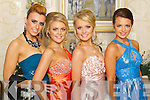 GLAM GALS: Pictured at the Mounthawk debs at the Abbeygate Hotel, Tralee, on Thursday night, from left: Priscilla Purcell, Kayleigh Power, Jade Enright, Rachel Rohan.