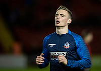 Bolton Wanderers' Ethan Hamilton warming up before the match <br /> <br /> Photographer Andrew Kearns/CameraSport<br /> <br /> The EFL Sky Bet League One - Lincoln City v Bolton Wanderers - Tuesday 14th January 2020  - LNER Stadium - Lincoln<br /> <br /> World Copyright © 2020 CameraSport. All rights reserved. 43 Linden Ave. Countesthorpe. Leicester. England. LE8 5PG - Tel: +44 (0) 116 277 4147 - admin@camerasport.com - www.camerasport.com