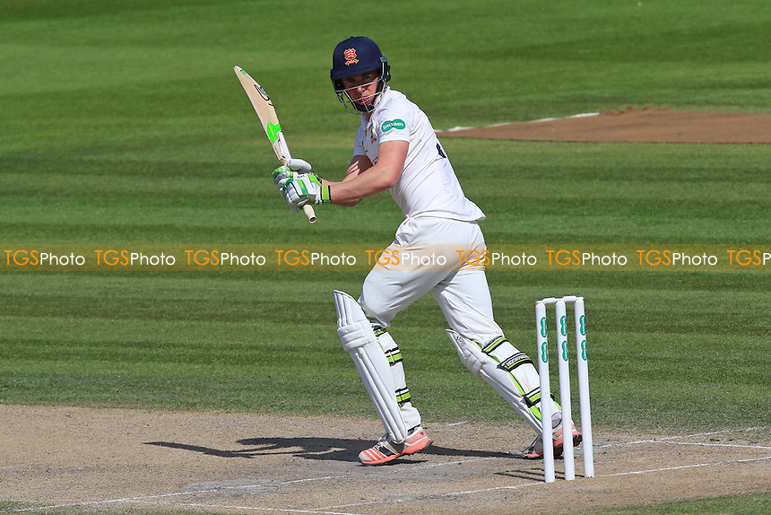 Daniel Lawrence in batting action for Essex during Sussex CCC vs Essex CCC, Specsavers County Championship Division 2 Cricket at The 1st Central County Ground on 20th April 2016