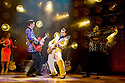 Million Dollar Quartet. Book by Colin Escott and Floyd Mutrux directed by Eric Schaeffer. With Robert Britton Lyons as Carl Perkins,Michael Malarkey as Elvis Presley. Opens at The Noel Coward  Theatre on 28/2/11  CREDIT Geraint Lewis