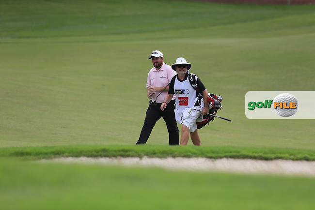 Shane Lowry (IRL) on the 15th fairway during the 3rd round of the DP World Tour Championship, Jumeirah Golf Estates, Dubai, United Arab Emirates. 17/11/2018<br /> Picture: Golffile | Fran Caffrey<br /> <br /> <br /> All photo usage must carry mandatory copyright credit (&copy; Golffile | Fran Caffrey)