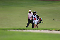 Shane Lowry (IRL) on the 15th fairway during the 3rd round of the DP World Tour Championship, Jumeirah Golf Estates, Dubai, United Arab Emirates. 17/11/2018<br /> Picture: Golffile | Fran Caffrey<br /> <br /> <br /> All photo usage must carry mandatory copyright credit (© Golffile | Fran Caffrey)