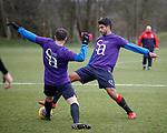 06.04.2018 Rangers training:<br /> Eduardo Herrera and Andy Halliday