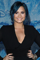 "HOLLYWOOD, CA - NOVEMBER 19: Singer Demi Lovato arrives at the World Premiere Of Walt Disney Animation Studios' ""Frozen"" held at the El Capitan Theatre on November 19, 2013 in Hollywood, California. (Photo by David Acosta/Celebrity Monitor)"