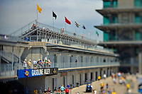 Verizon IndyCar Series<br /> Indianapolis 500 Practice<br /> Indianapolis Motor Speedway, Indianapolis, IN USA<br /> Tuesday 16 May 2017<br /> Gasoline Alley overlook and the IMS Pagoda.<br /> World Copyright: F. Peirce Williams