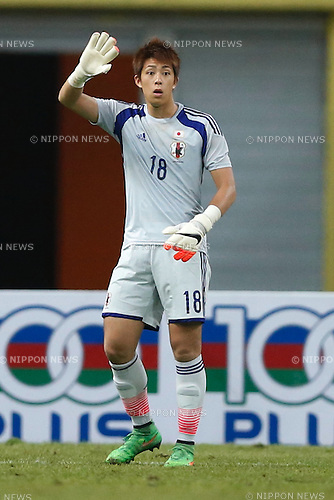 Masatoshi Kushibiki (JPN), MARCH 29, 2015 - Football / Soccer : AFC U-23 Championship 2016 Qualification Group I match between U-22 Japan 2-0 U-22 Vietnam at Shah Alam Stadium in Shah Alam, Malaysia. (Photo by Sho Tamura/AFLO SPORT)