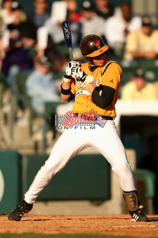 Tennessee catcher J.P. Arencibia (44) at the 2006 Baseball at the Beach tournament in Myrtle Beach, Sc.