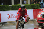 Julien Simon (FRA) Cofidis in action during Stage 1, a 14km individual time trial around Dusseldorf, of the 104th edition of the Tour de France 2017, Dusseldorf, Germany. 1st July 2017.<br /> Picture: Eoin Clarke | Cyclefile<br /> <br /> <br /> All photos usage must carry mandatory copyright credit (&copy; Cyclefile | Eoin Clarke)