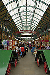 Interior of Covent Garden Apple Market, London, England