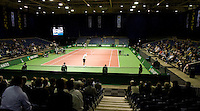 21-2-08, Netherlands, Rotterdam ABNAMROWTT 2008, view court 1