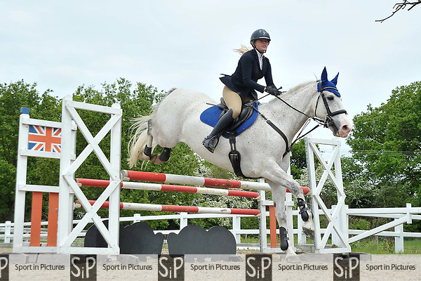Class 2. British showjumping seniors. Brook Farm training centre. Essex. 13/05/2018. ~ MANDATORY Credit Garry Bowden/Sportinpictures - NO UNAUTHORISED USE - 07837 394578