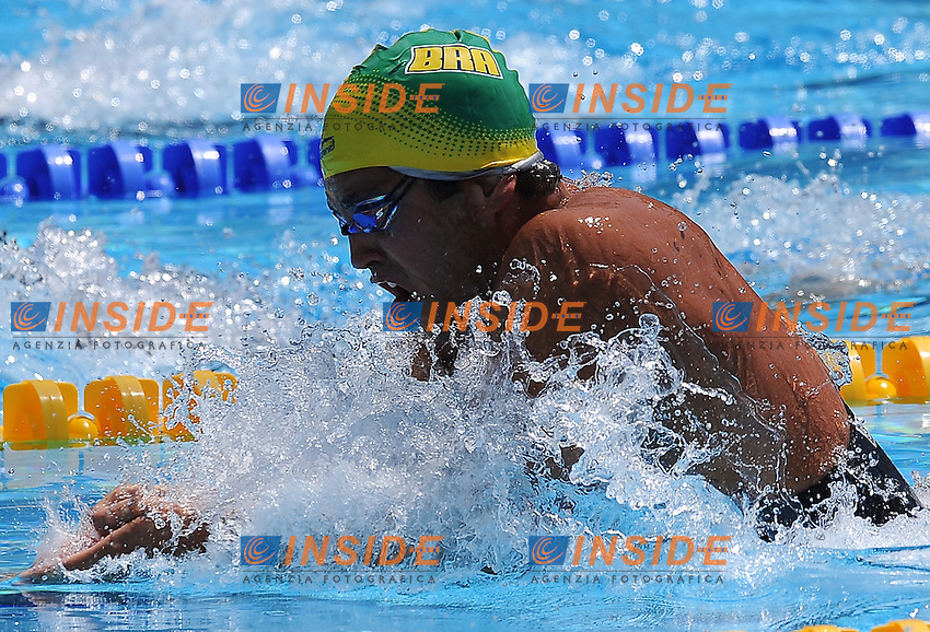 Roma 26th July 2009 - 13th Fina World Championships From 17th to 2nd August 2009....Swimming heats..Men's 100m breaststroke..Henrique Barbosa (BRA)......photo: Roma2009.com/InsideFoto/SeaSee.com