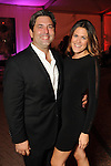 Jared Lang and Cara Morales at the first night of Fashion Houston at the Wortham Theater Monday Oct. 10,2011.(Dave Rossman/For the Chronicle)
