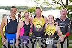 Norman Fitzgerald Tralee, Sinead Kelliher Kenmare, Martin Tierney, Leanne Mccarthy and Donal Fitzgibbon Tralee who competed in the Iron Man Triathlon in Killarney on Saturday
