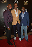 MIAMI GARDENS, FL - DECEMBER 02: Anthony Harris, Jason Taylor, Sam Madison attend The Miami Dolphins 'Hall of Fame Celebration' hosting Jason Taylor at Hard Rock Stadium on December 02, 2017 in Miami Gardens, Florida. Credit: MPI10 / MediaPunch