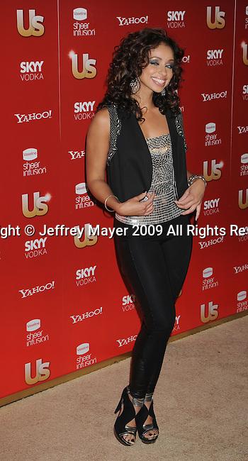 WEST HOLLYWOOD, CA. - November 18: Mya arrives at the US Weekly's Hot Hollywood 2009 at Voyeur on November 18, 2009 in West Hollywood, California.