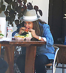 October 13th 2012  <br /> <br /> Maria Shriver eating lunch taking a big bite out of a hamburger with her family. Petting a dog smiling laughing in Malibu California. Katherine , Christopher , Christina , Patrick Schwarzenegger. <br /> <br /> <br /> AbilityFilms@yahoo.com<br /> 805 427 3519<br /> www.AbilityFilms.com