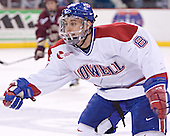 Jason Tejchma - The Boston College Eagles defeated the University of Massachusetts-Lowell River Hawks 4-3 in overtime on Saturday, January 28, 2006, at the Paul E. Tsongas Arena in Lowell, Massachusetts.