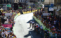 Picture by Simon Wilkinson/SWpix.com 16/07/2017 - Cycling Tour de France 2017 - Stage 16 - Laissac - Sévérac L' Elise - Le Puy En Velay - Grupetto Le Puy En Velay