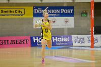 Katrina Grant in action during the ANZ Championship 2014 - Haier Pulse v Waikato Magic at Te Rauparaha  Arena Centre, Porirua, Wellington, New Zealand on Monday 5 May 2014. <br /> Photo by Masanori Udagawa. <br /> www.photowellington.photoshelter.com.