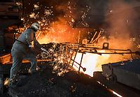 AHMSA Altos Hornos de Mexico SA (steel plant), Monclova, Coahuila, Mexico