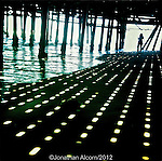 Beneath the Santa Monica Pier, June 27,  2012.