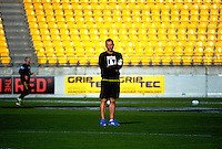 Assistant coach John Plumtree. Hurricanes Super Rugby captain's run at Westpac Stadium, Wellington, New Zealand on Thursday, 26 April 2016. Photo: Dave Lintott / lintottphoto.co.nz
