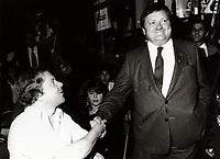 Montreal (QC) CANADA November 11 1986  file photo  -Jean Garon-