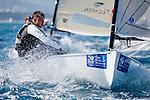 ISAF Sailing World Cup Hyères - Fédération Française de Voile. Finn.