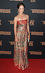 Annabeth Gish arriving at The Bridge Season Two Premiere held at The Pacific Design Center West Hollywood, CA. July 7, 2014.