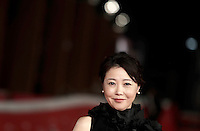 La regista giapponese Miwa Nishikawa posa sul red carpet per la presentazione del film &quot;The Long Excuse&quot; al Festival Internazionale del Film di Roma, 18 ottobre 2016.<br /> Japanese director Miwa Nishikawa poses on the red carpet to present the movie &quot;The Long Excuse&quot; during the international Rome Film Festival at Rome's Auditorium,18 October 2016.<br /> UPDATE IMAGES PRESS/Isabella Bonotto