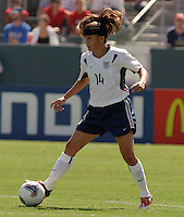 Joy Fawcett, USA vs. Canada at the Third Place Match of the FIFA Women's World Cup USA 2003. USA 3, Canada, 1. (October 11, 2003). .
