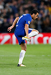 Chelsea's Pedro celebrates scoring his sides opening goal during the champions league match at Stamford Bridge Stadium, London. Picture date 12th September 2017. Picture credit should read: David Klein/Sportimage