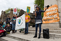 Sheila Menon (Member of Plane Stupid).<br />