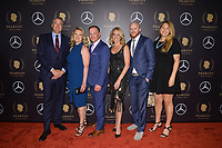 NEW YORK - MAY 18: David Lubbers, Paula Lavigne, John Barr, Nicole Noren, Dan Murphy and Tisha Thompson attend the 78th Annual Peabody Awards at Cipriani Wall Street on May 18, 2019 in New York City. (Photo by Anthony Behar/FX/PictureGroup)