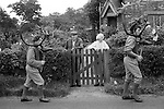 Abbots Bromley Horn Dance, Abbots Bromley, Staffordshire, England 1973