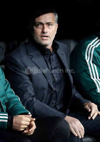 Real Madrid's coach Jose Mourinho during Champions League 2012/2013 match.November 6,2012.  Credit: Alterphotos/NortePhoto/MediaPunch Inc. ***FOR USA ONLY***