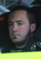 Apr 19, 2007; Avondale, AZ, USA; Nascar Nextel Cup Series driver Paul Menard (15) during qualifying for the Subway Fresh Fit 500 at Phoenix International Raceway. Mandatory Credit: Mark J. Rebilas